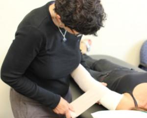 lymphedema bandaging